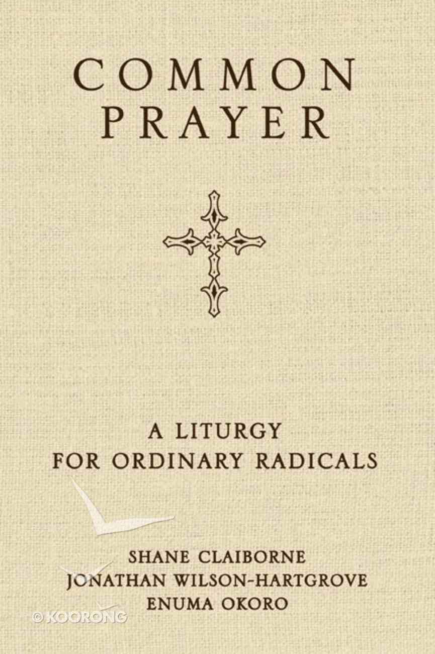 Common Prayer Hardback