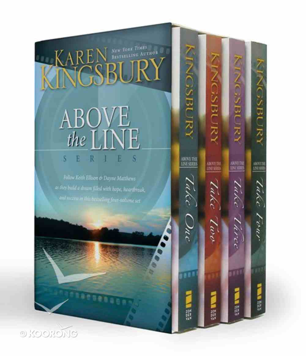 Above the Line Series Boxed Set (Above The Line Series) Hardback