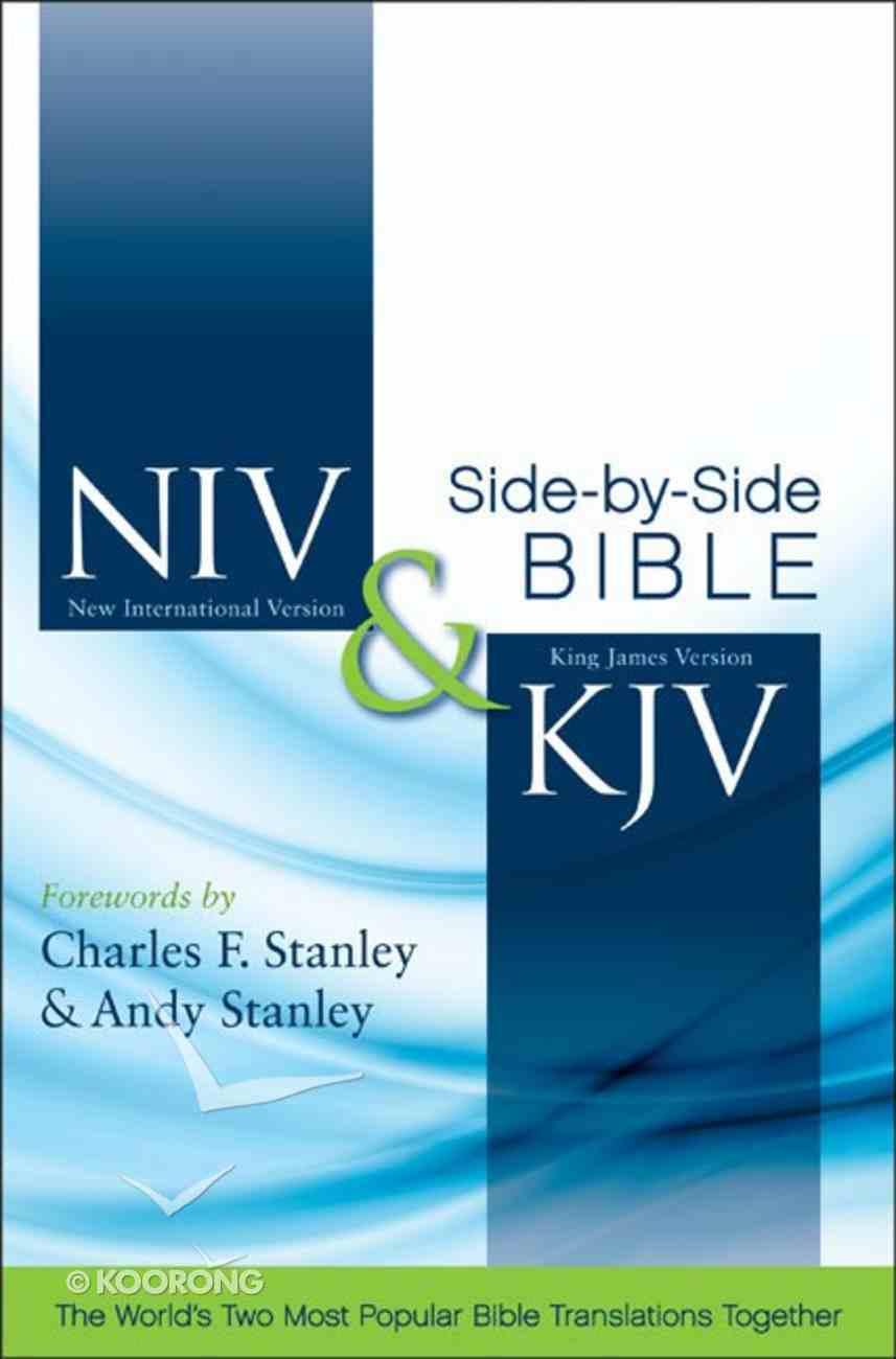 Niv/Kjv Side By Side Bible (Black Letter Edition) Hardback