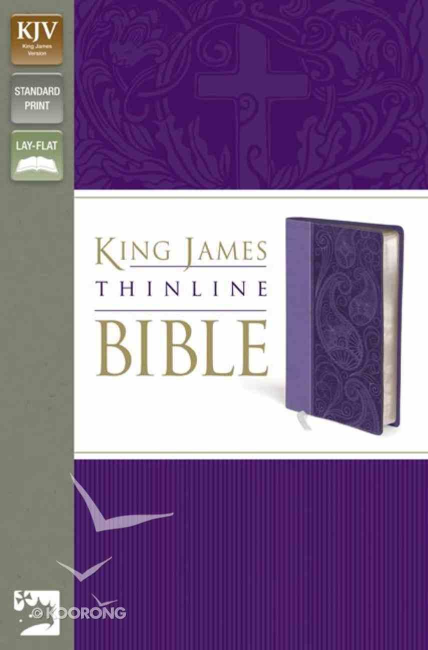 KJV Thinline Lavender (Red Letter Edition) Imitation Leather