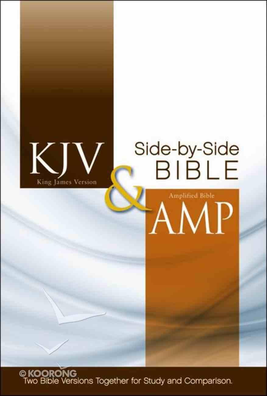 Kjv/Amplified Side-By-Side Bible (Red Letter Edition) Hardback