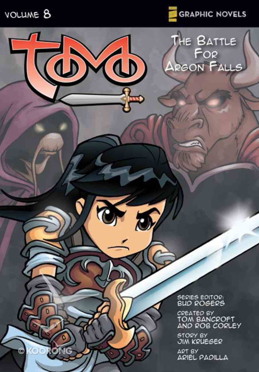 Battle of Argon Falls (Z Graphic Novels) (#08 in Tomo Series) Paperback