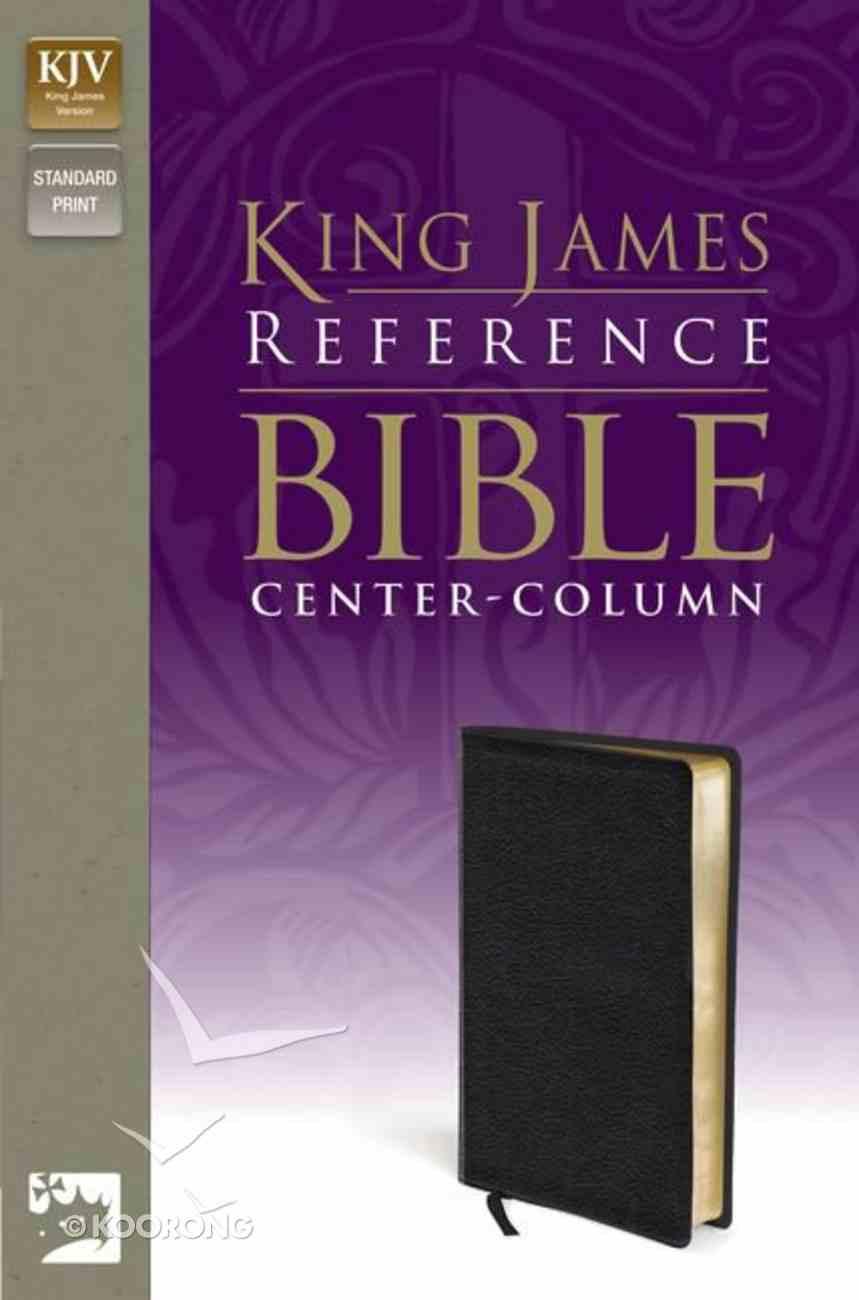 KJV Reference Bible Black (Red Letter Edition) Imitation Leather
