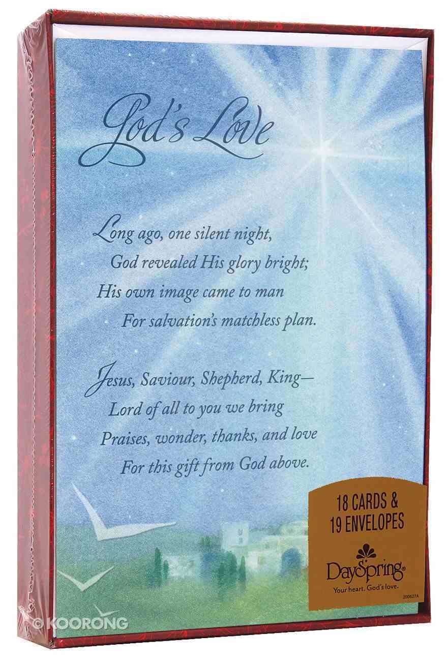 Christmas Boxed Cards: God's Love Box