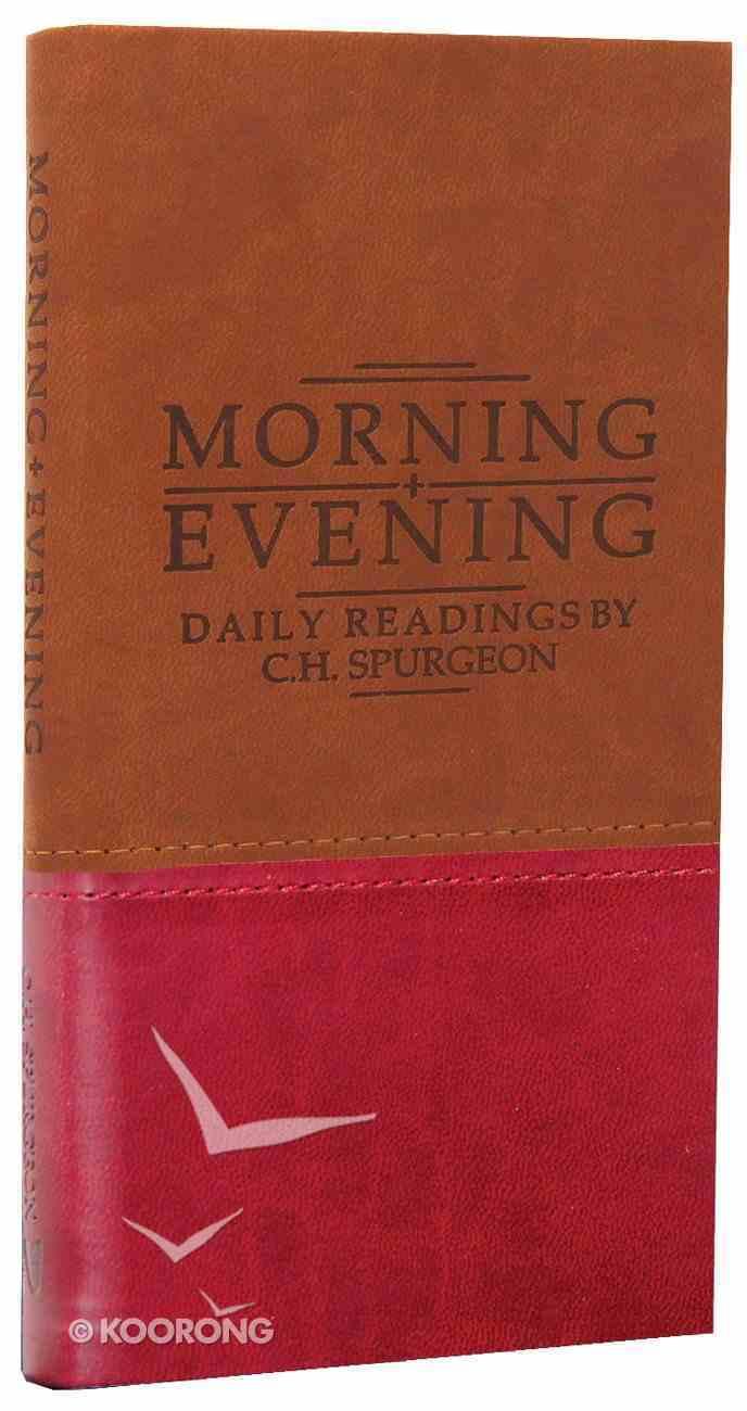 Morning & Evening (Tan/burgundy Duo Tones) Imitation Leather