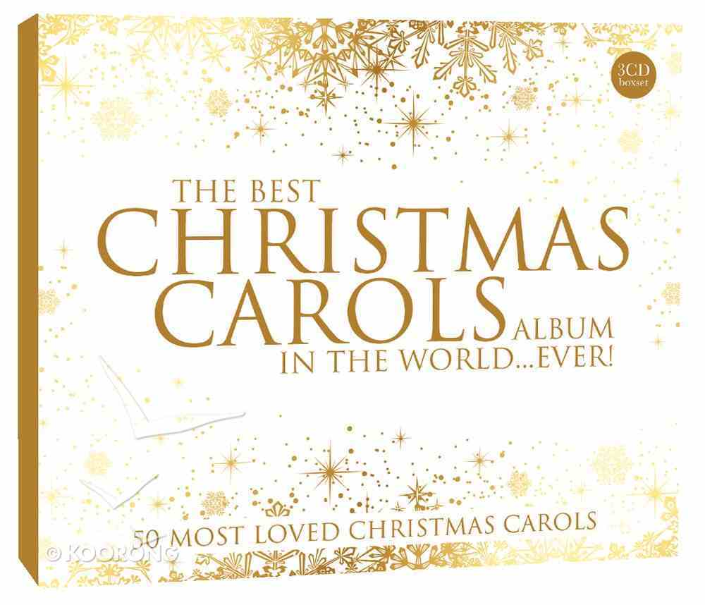 Best Christmas Carols Album in the World... Ever Triple CD CD