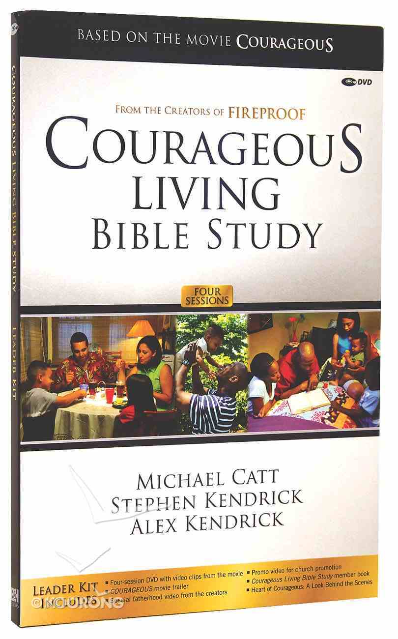 Courageous Living Bible Study Leader's Curriculum Kit (Courageous Series) Pack