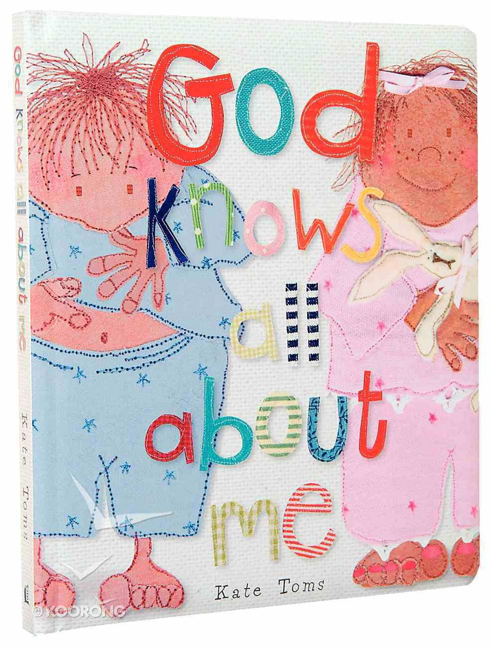 God Knows All About Me Board Book
