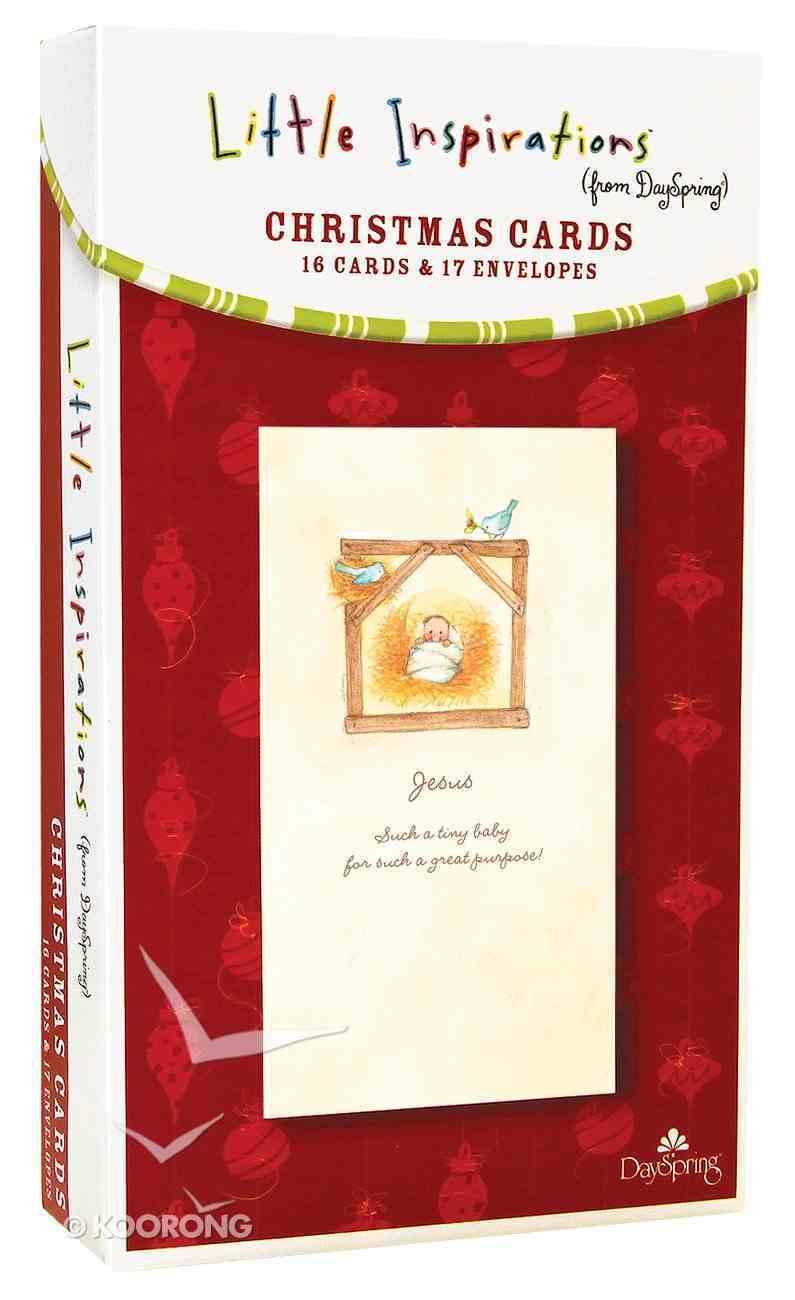 Christmas Boxed Cards: Jesus, Such a Tiny Baby (Luke 2:12 Kjv) Box