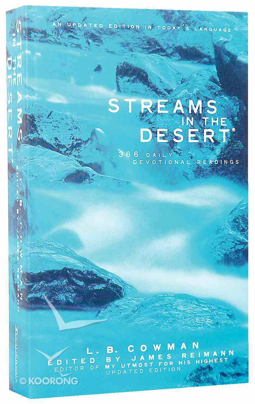 Streams in the Desert (Niv Edition) Paperback