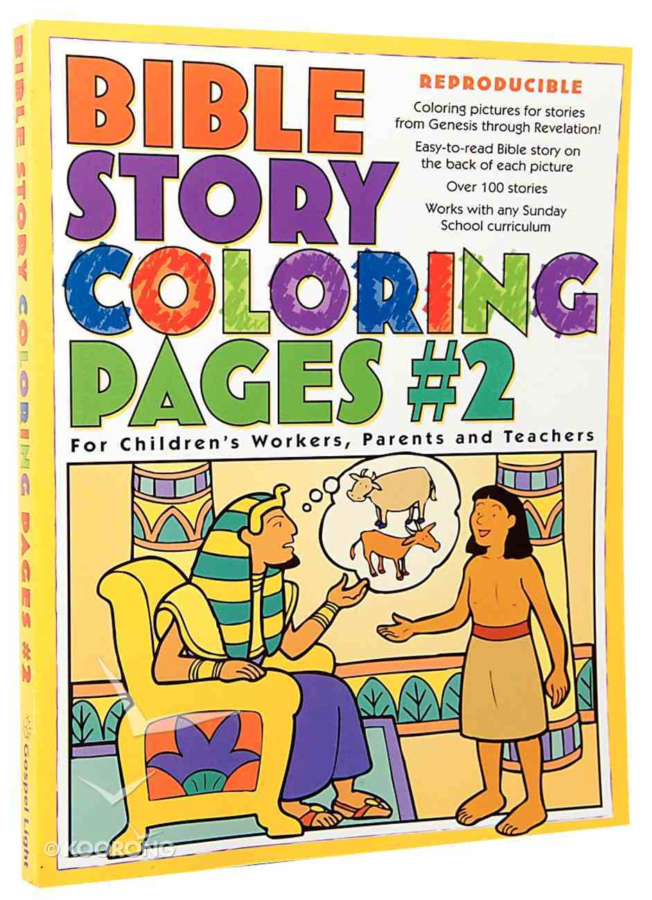 Bible Story Colouring Pages #02 (Reproducible) Paperback