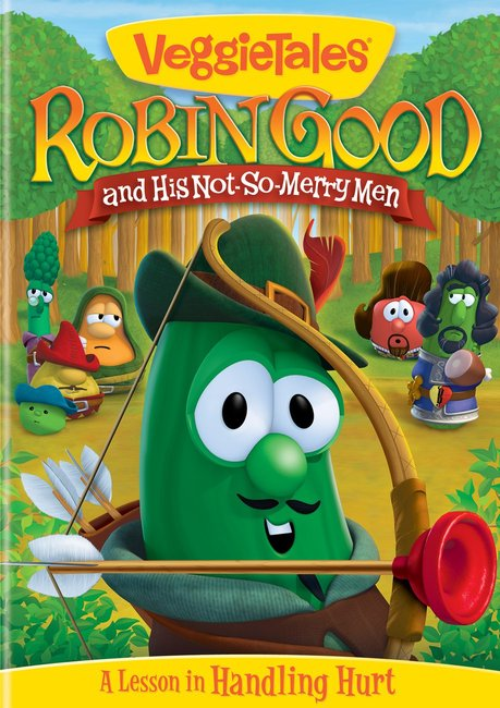 Product: Dvd Veggie Tales #47: Robin Good And His Not-so-merry Men Image