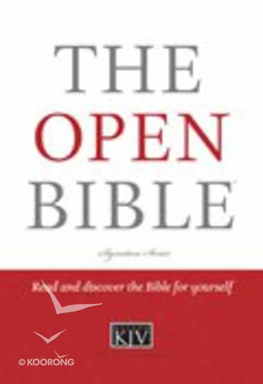 KJV the Open Bible Hardback