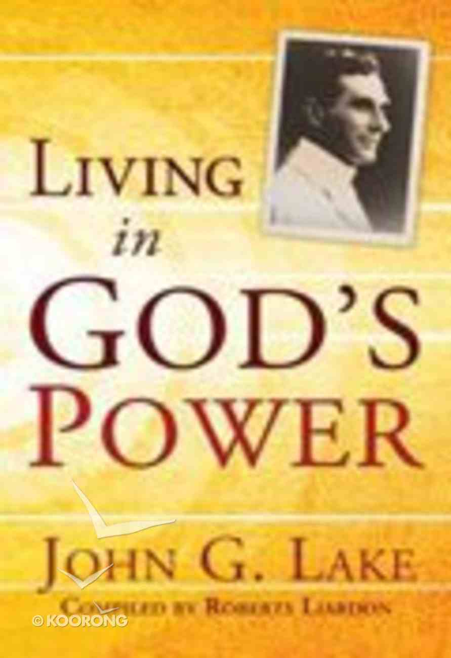 Living in God's Power Paperback