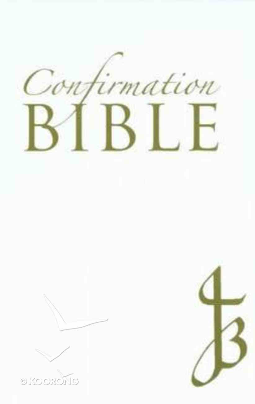 New Jerusalem Confirmation Bible Leather White Hardback