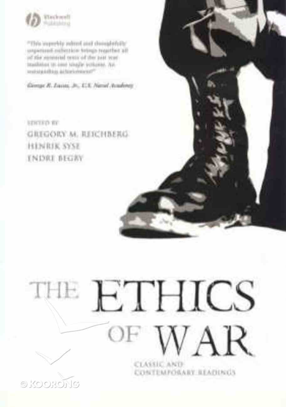 The Ethics of War Paperback