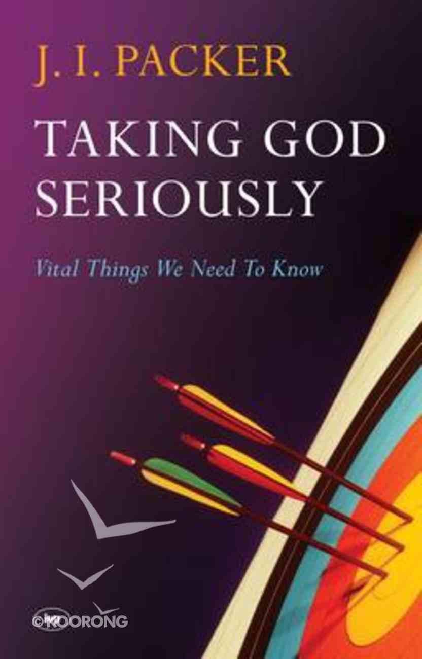 Taking God Seriously Paperback