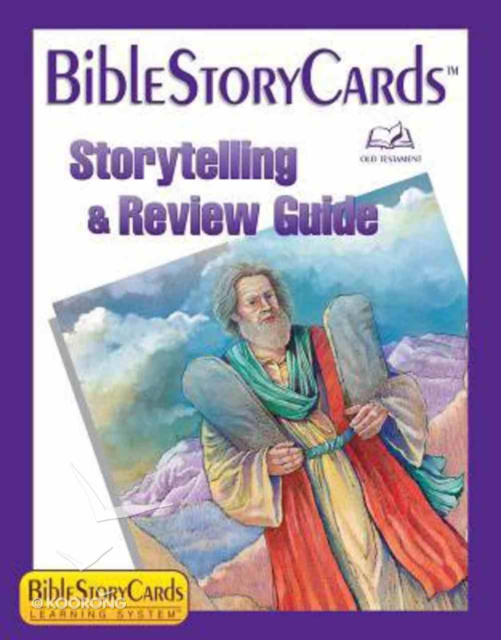 Bible Story Cards: Story Telling and Review Guide Old Testament Paperback