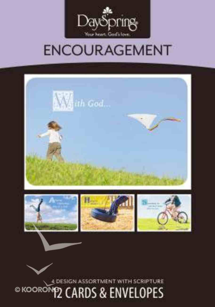 Boxed Cards Encouragment: Carefree Box