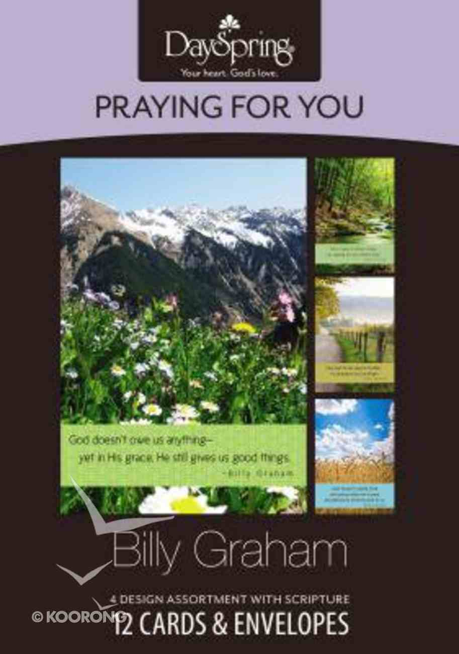 Boxed Cards Praying For You: Billy Graham Box