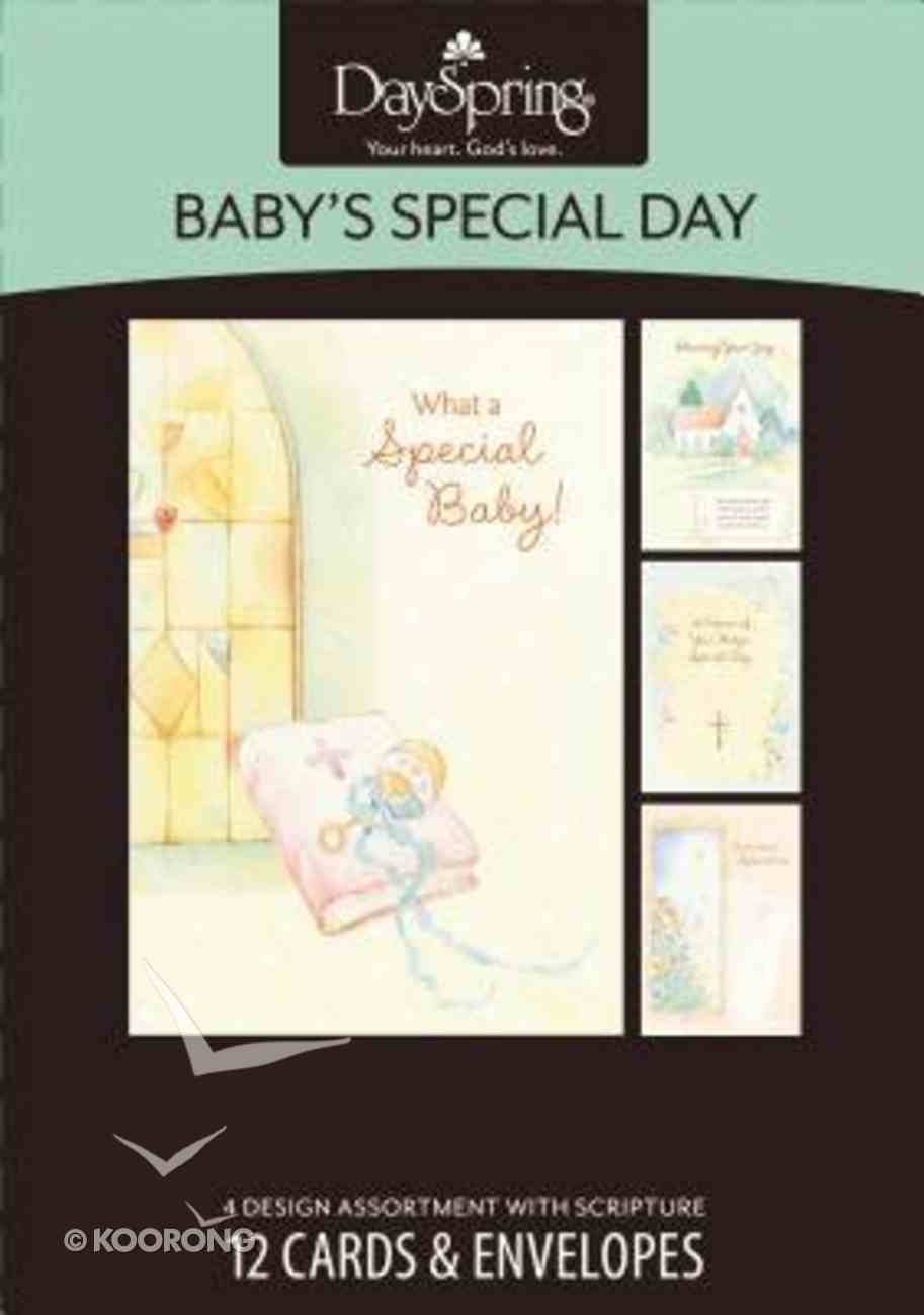Boxed Cards Baby's Special Day: Baby Dedication & Baptism Box