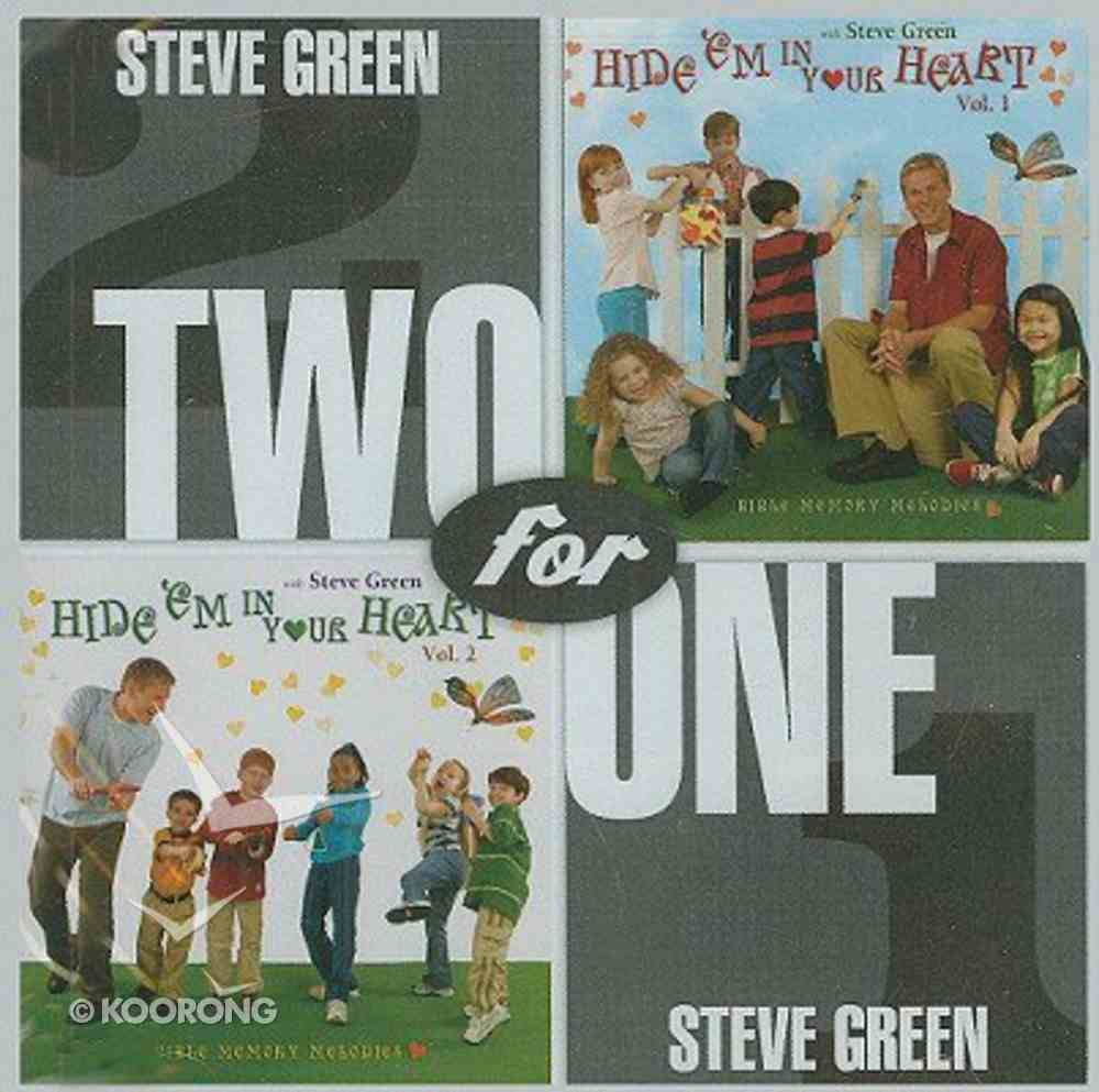 2 For 1 Hide Em in Our Heart 1 and 2 Double CD CD