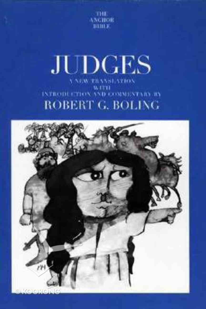 Judges (Anchor Yale Bible Commentaries Series) Paperback