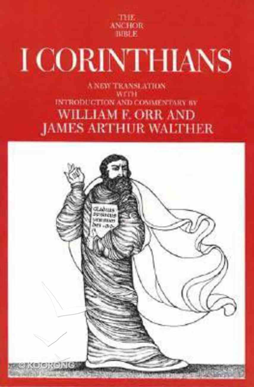 I Corinthians (Anchor Yale Bible Commentaries Series) Paperback