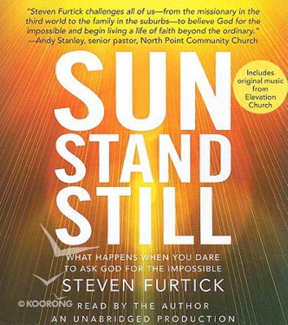 Sun Stand Still (Unabridged 5cds) CD