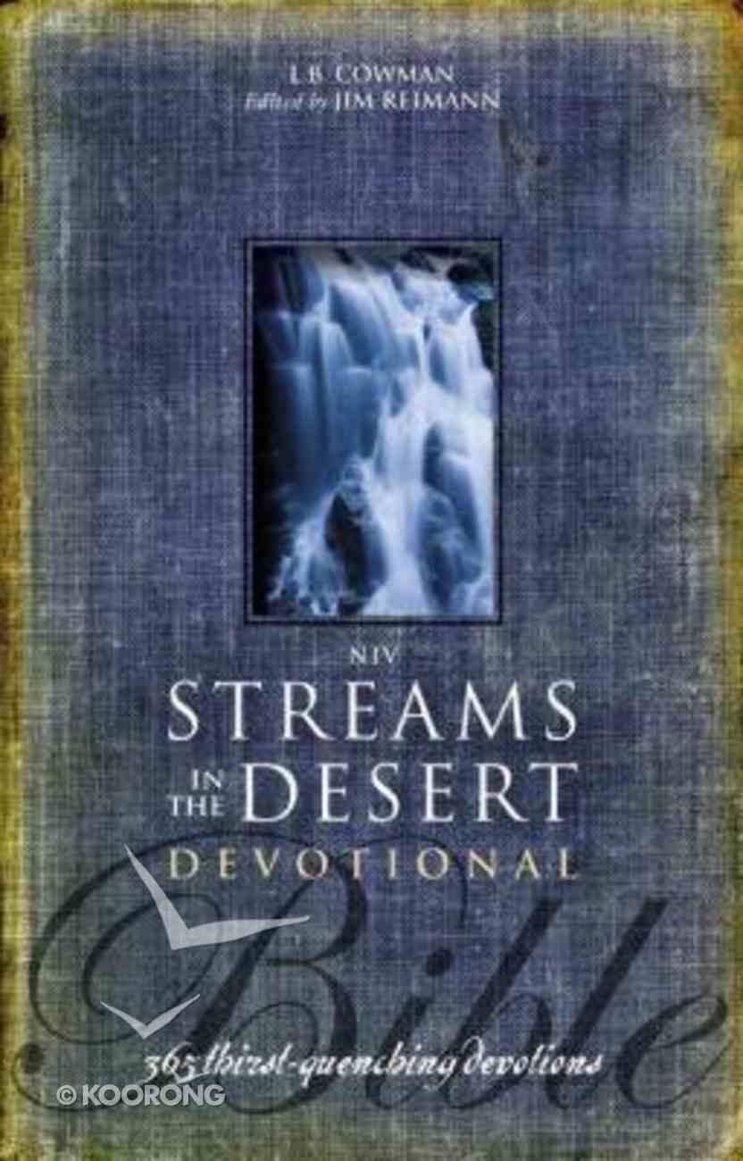 NIV Streams in the Desert Bible Hardback