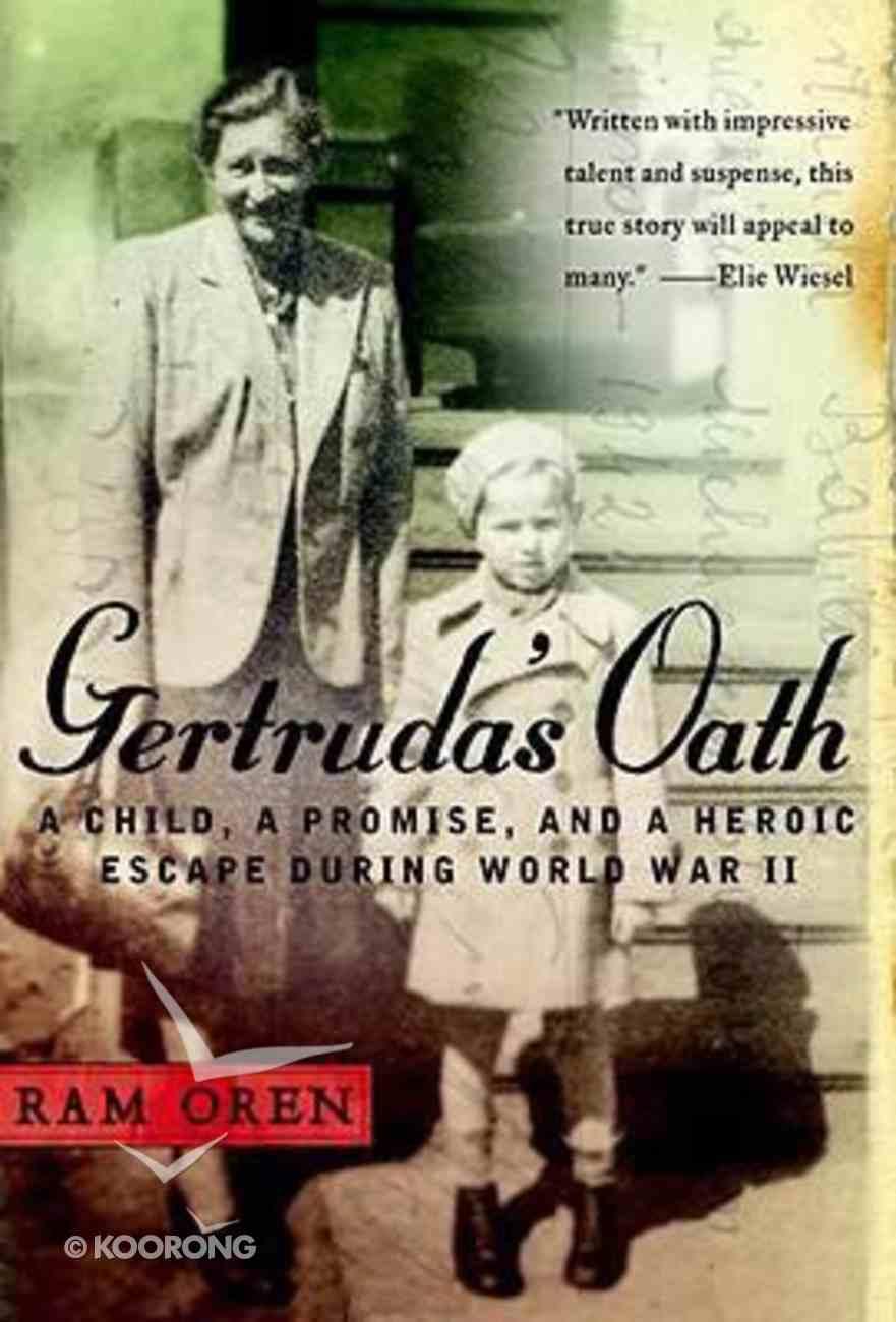 Gertruda's Oath Hardback
