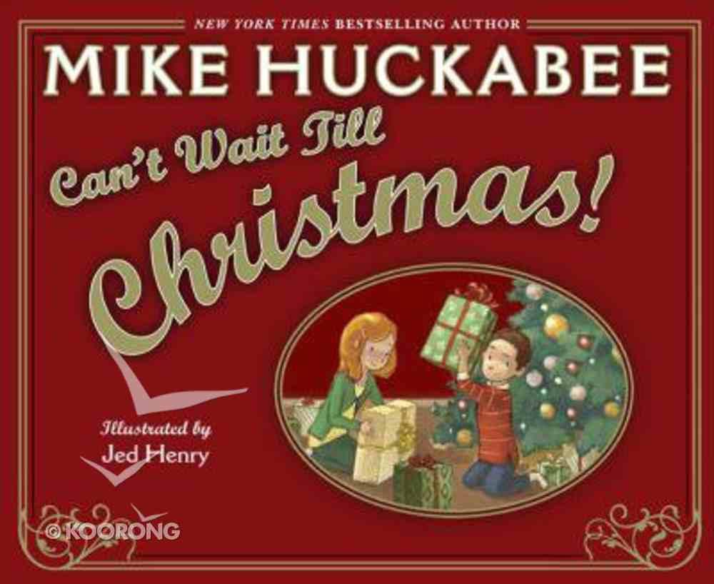 Can't Wait Till Christmas Hardback