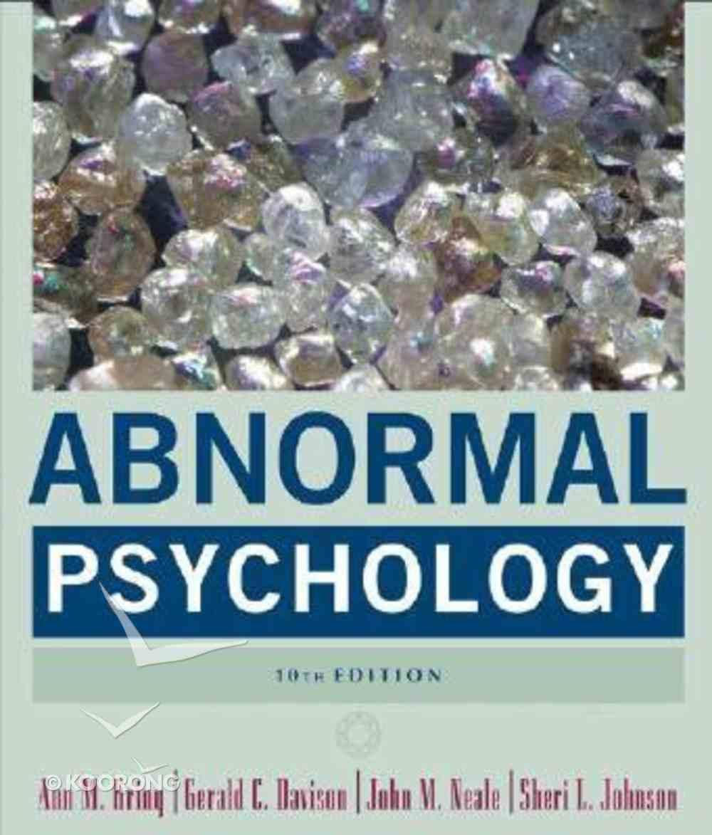 Abnormal Psychology (10th Ed) Hardback