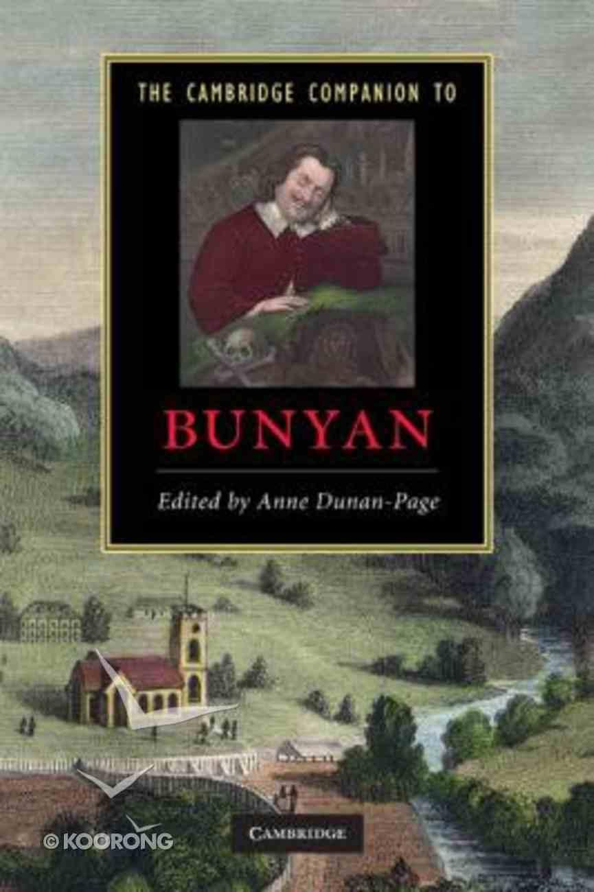 The Cambridge Companion to Bunyan Paperback