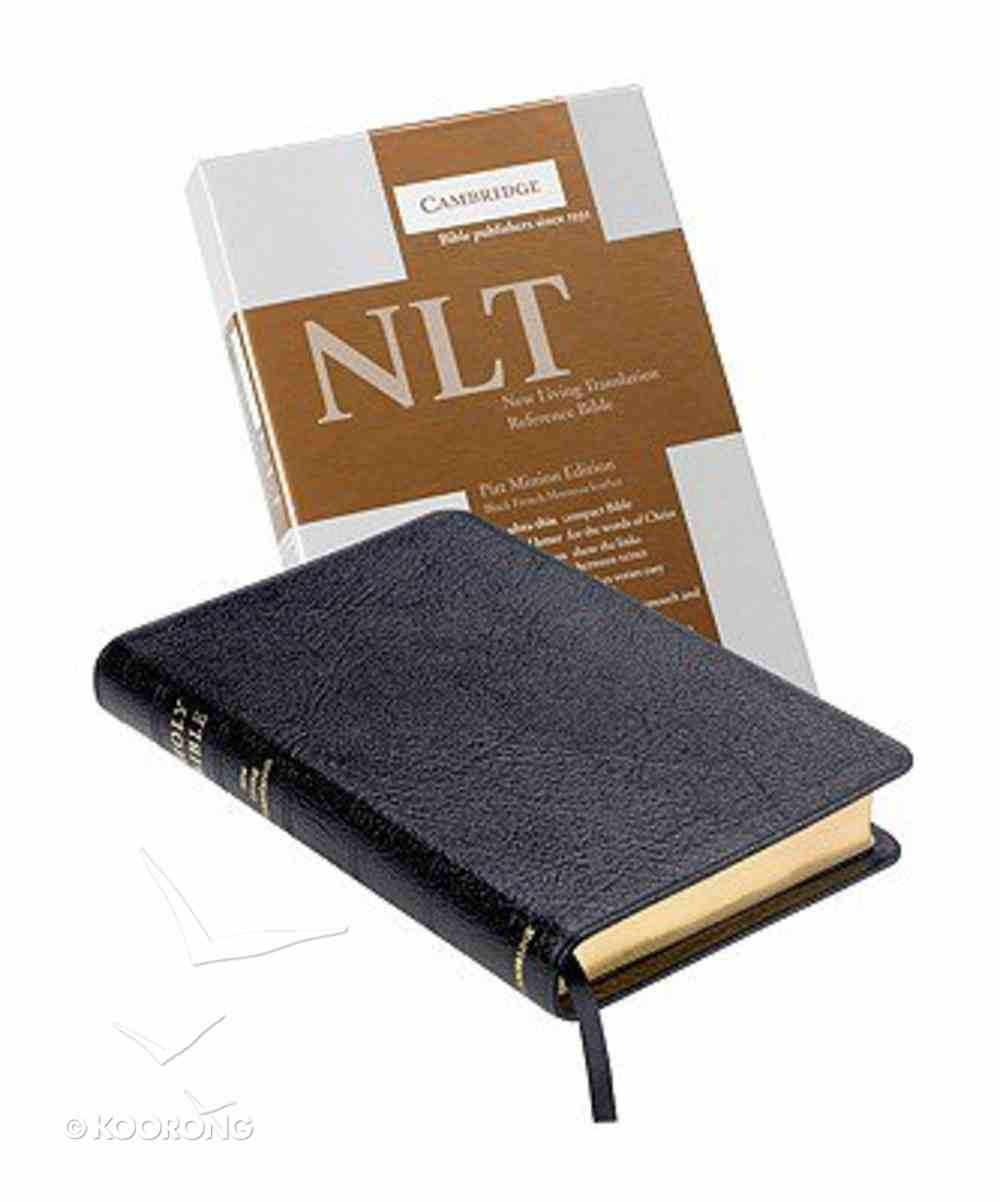 NLT Pitt Minion Reference Black French Morocco Leather (Red Letter Edition) Morocco Leather (Sheepskin)