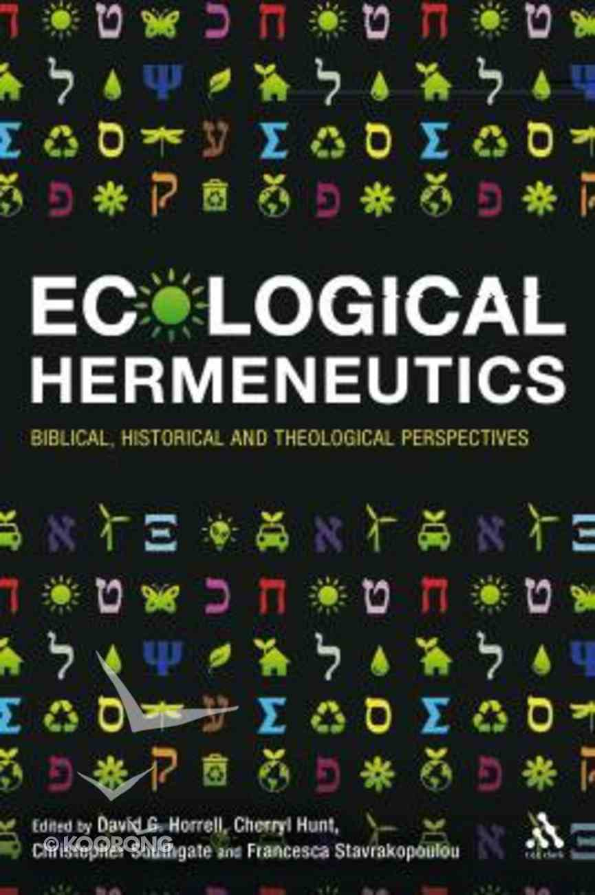 Ecological Hermeneutics Paperback