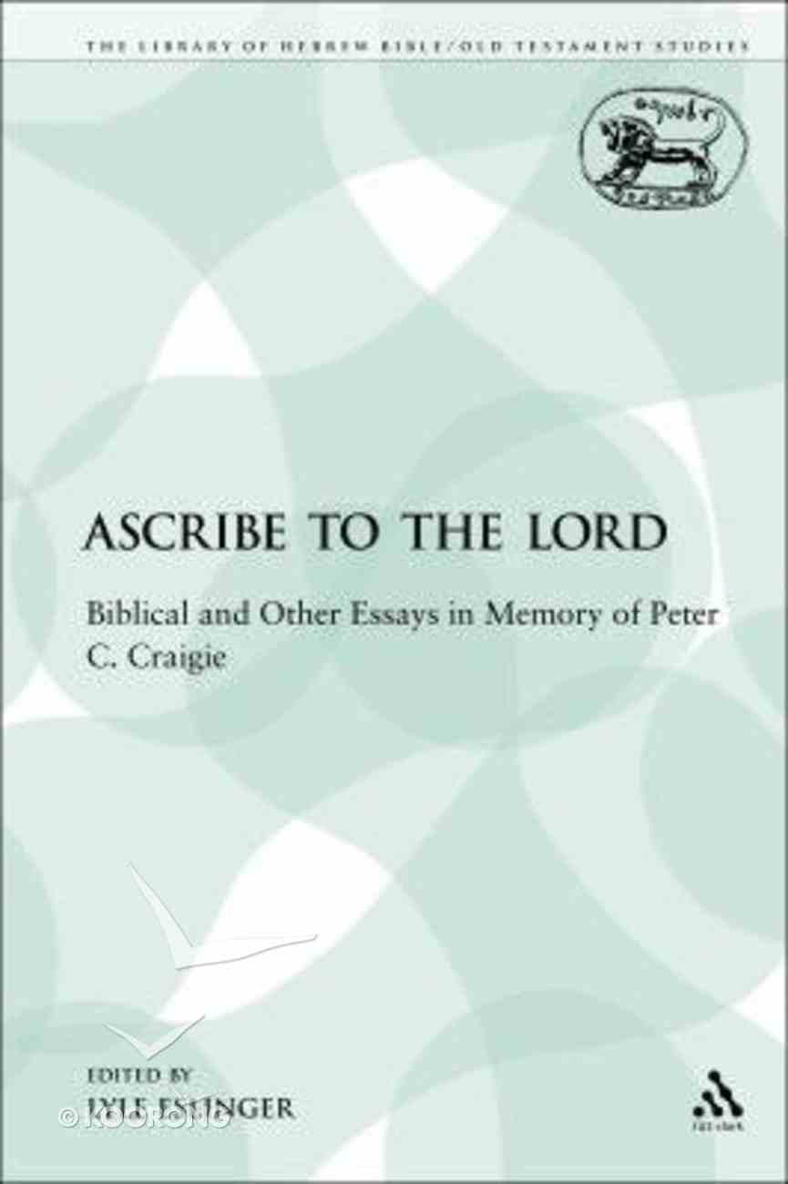 Lhbots: Ascribe to the Lord Paperback