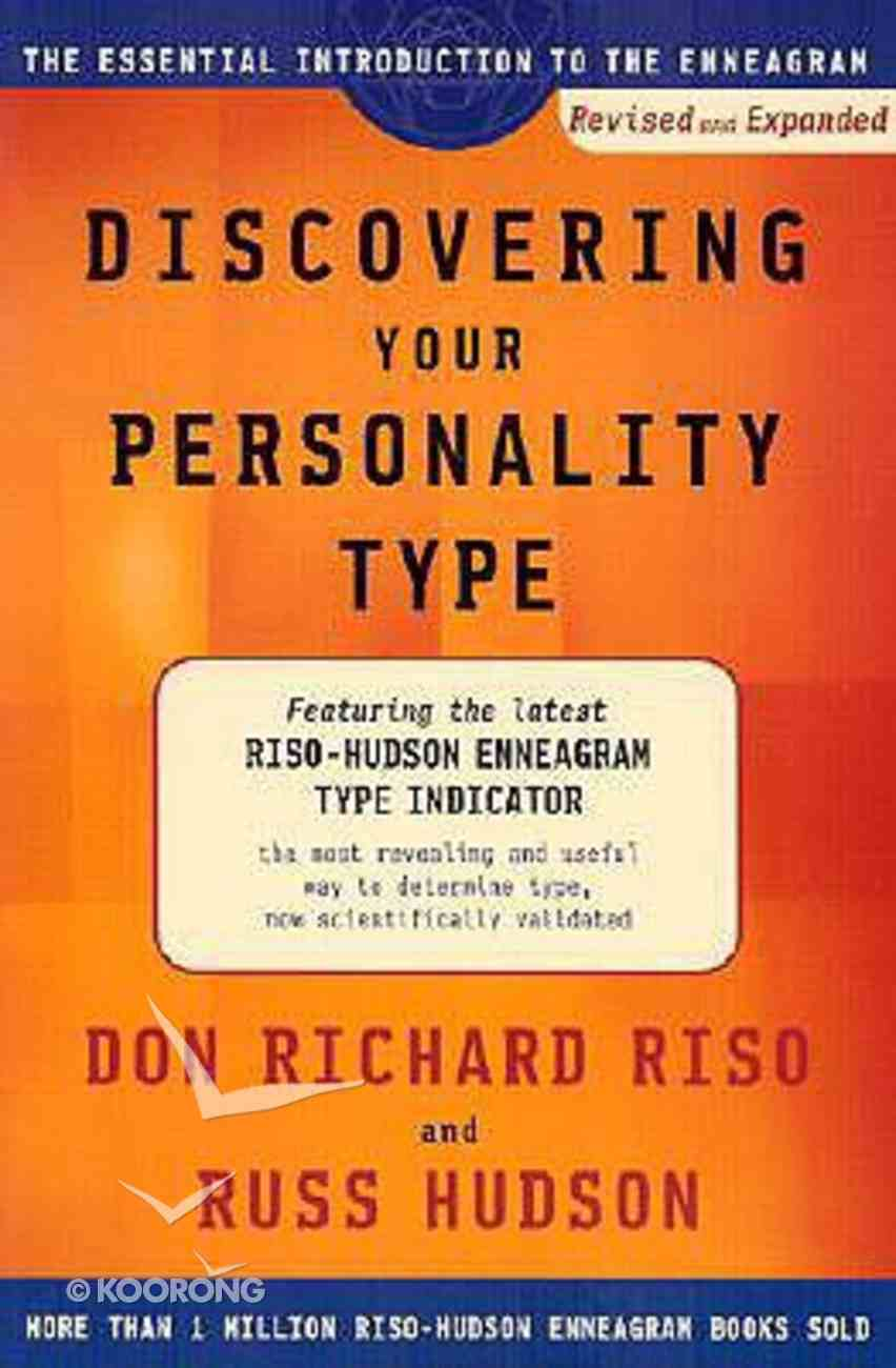 Discovering Your Personality Type Paperback