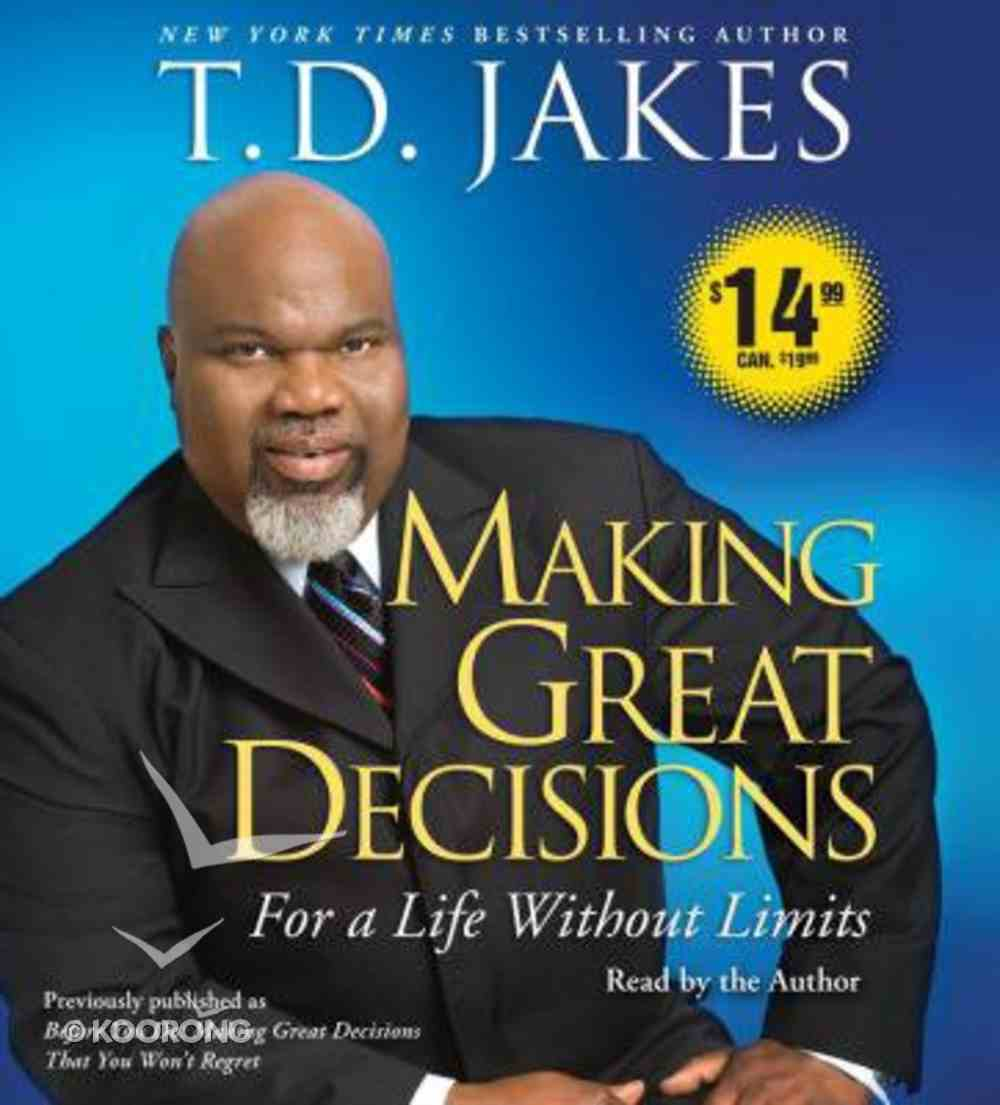 Making Great Decisions (Abridged) (5 Cds) CD