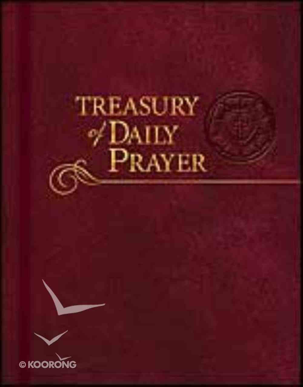 Treasury of Daily Prayer Paperback