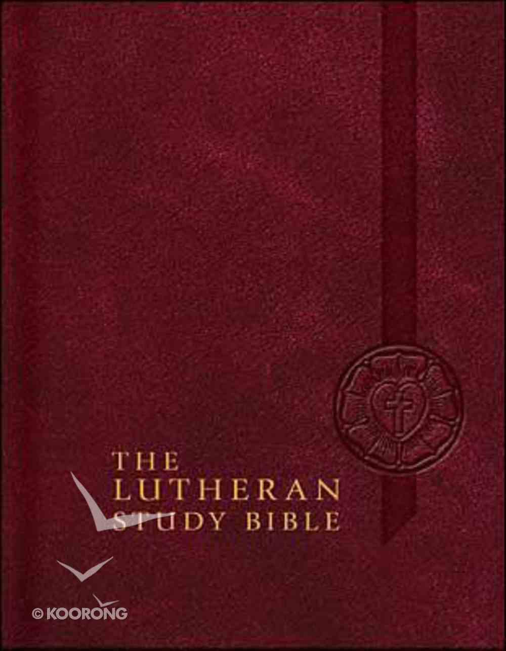 Lutheran Study Bible Hardback