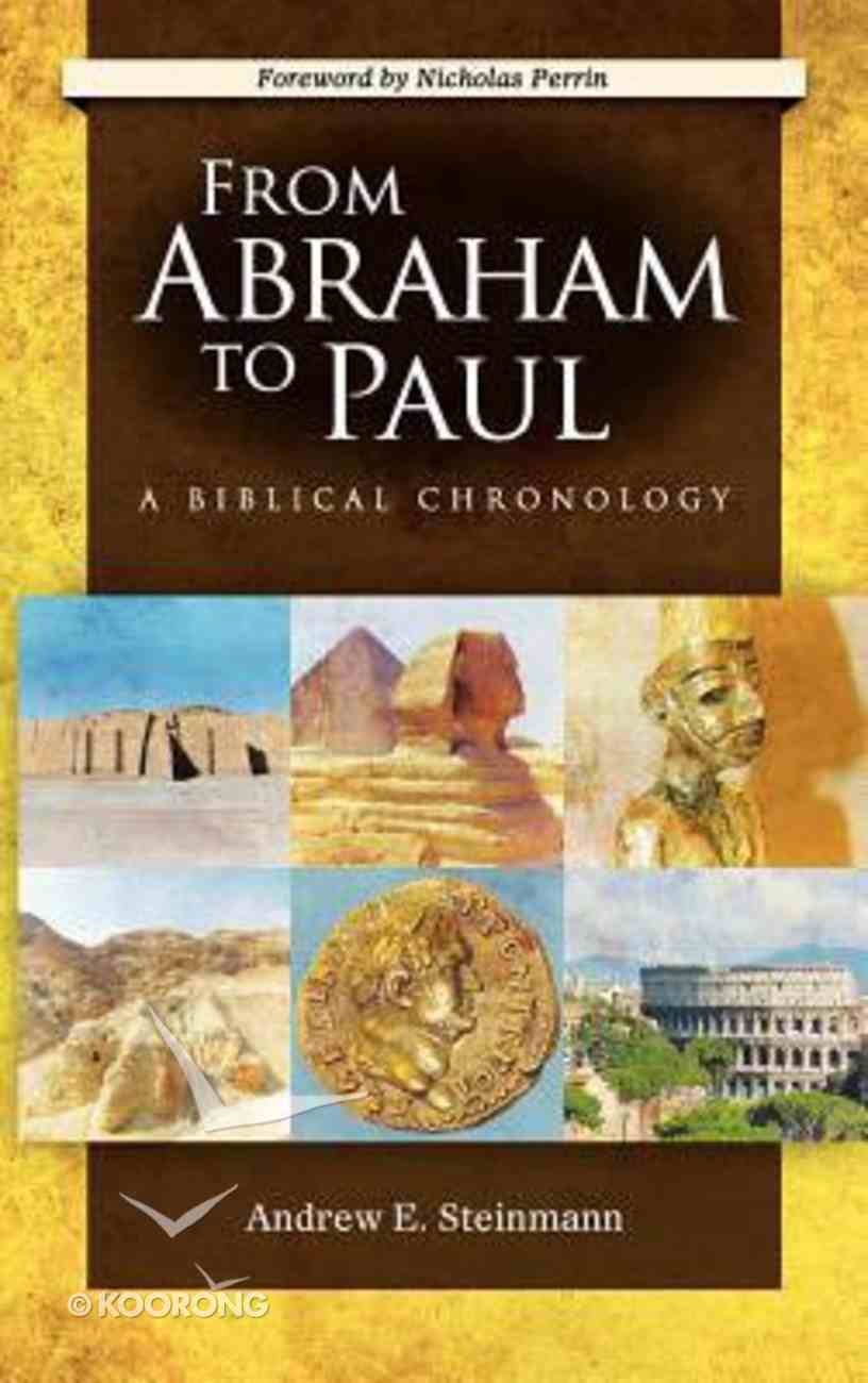 From Abraham to Paul Hardback