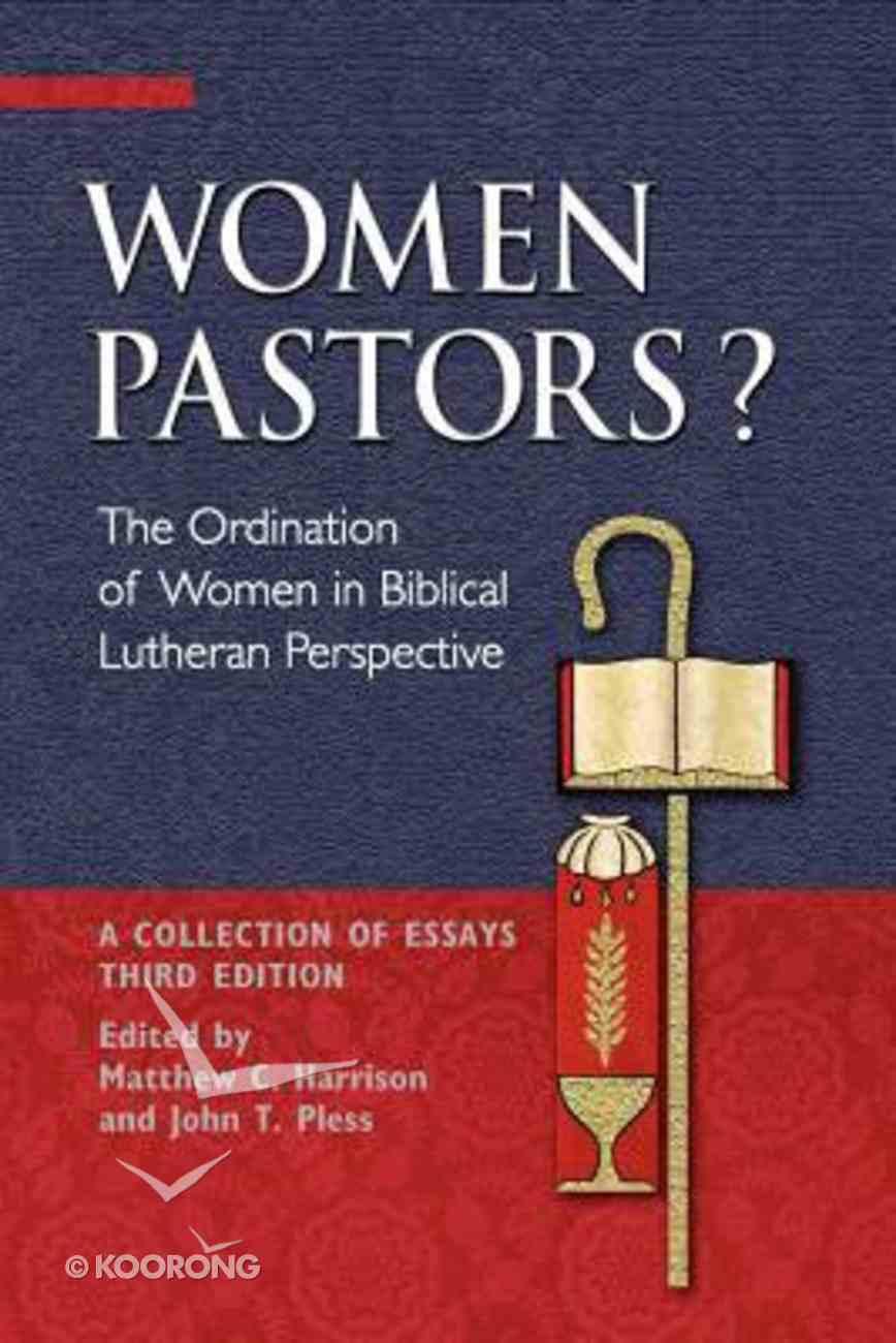 Women Pastors? Paperback