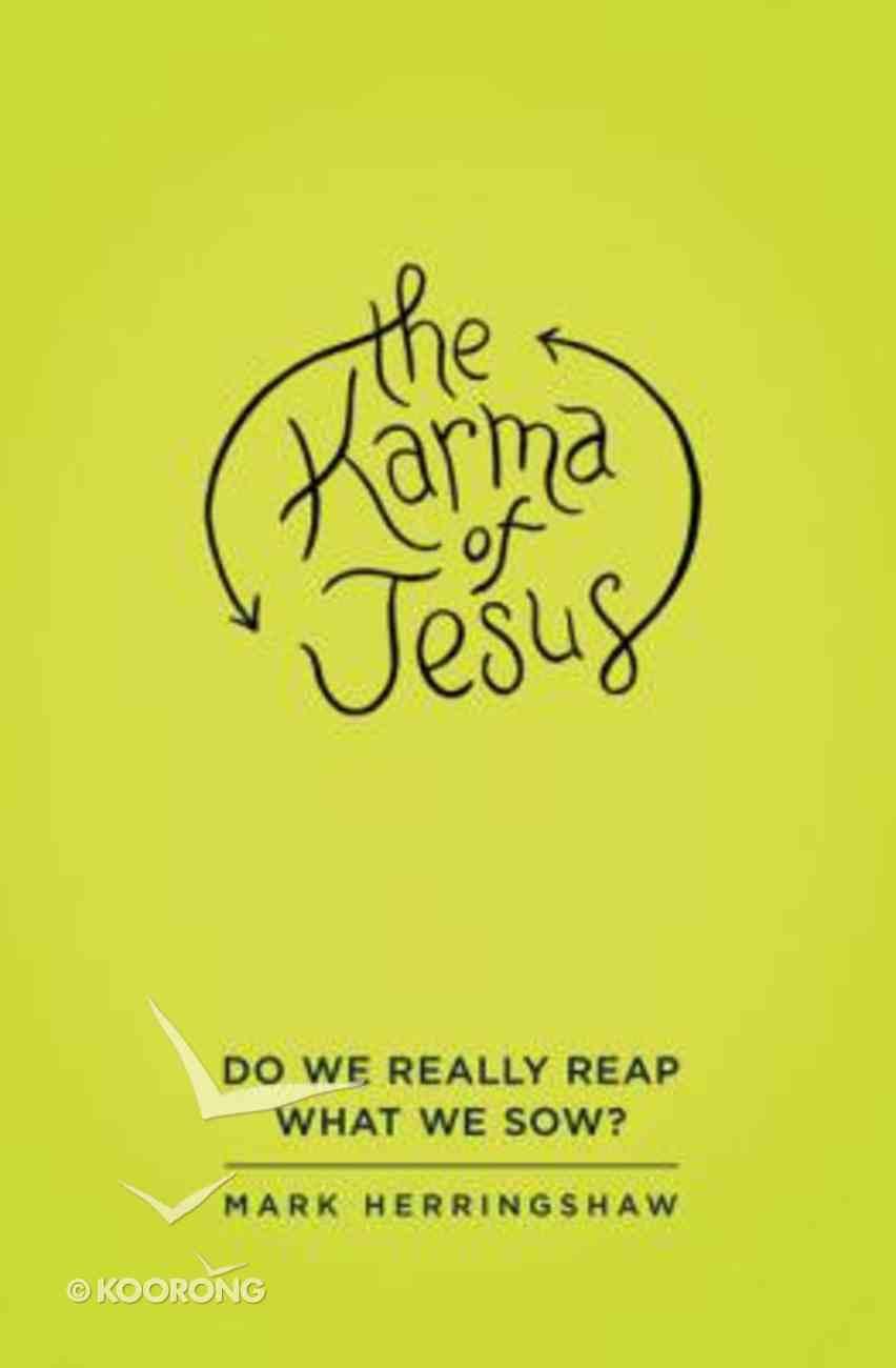 The Karma of Jesus Paperback