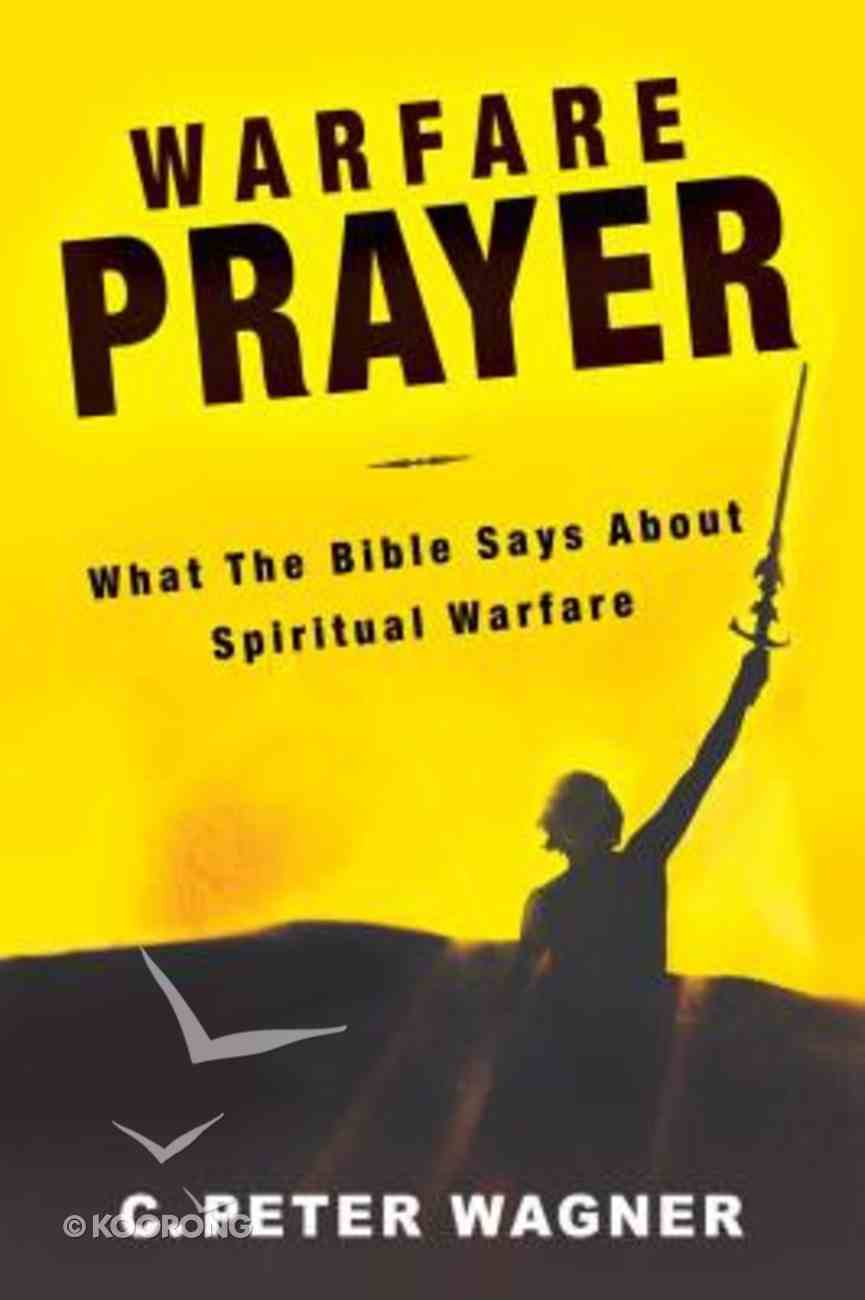 Warfare Prayer Paperback