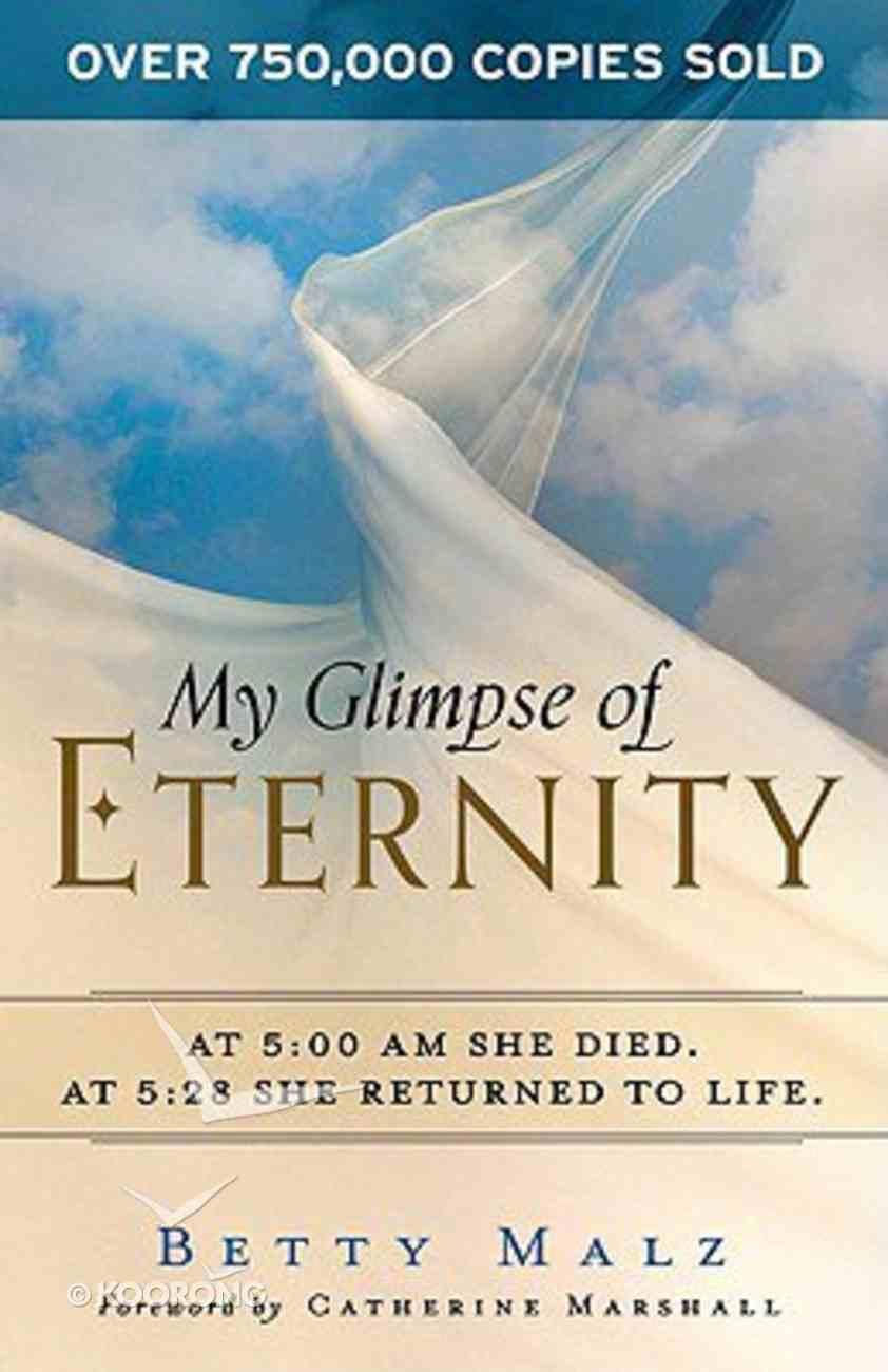 My Glimpse of Eternity Paperback