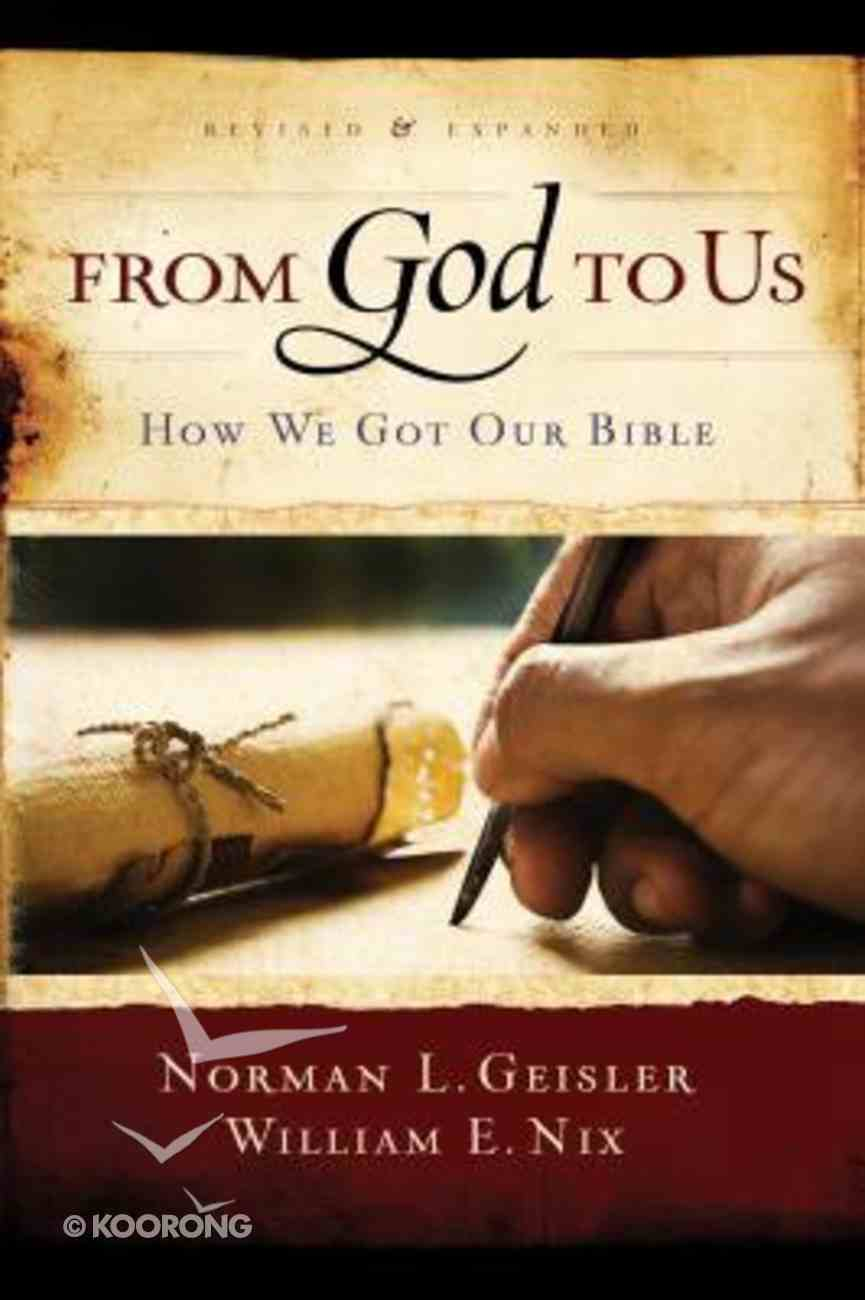 From God to Us Paperback