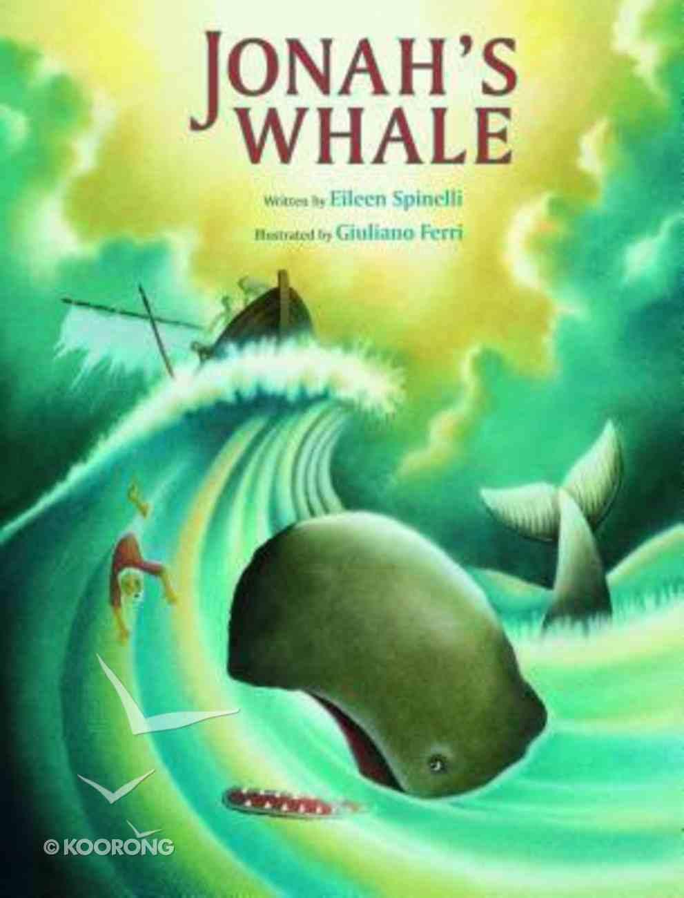 Jonah's Whale Hardback