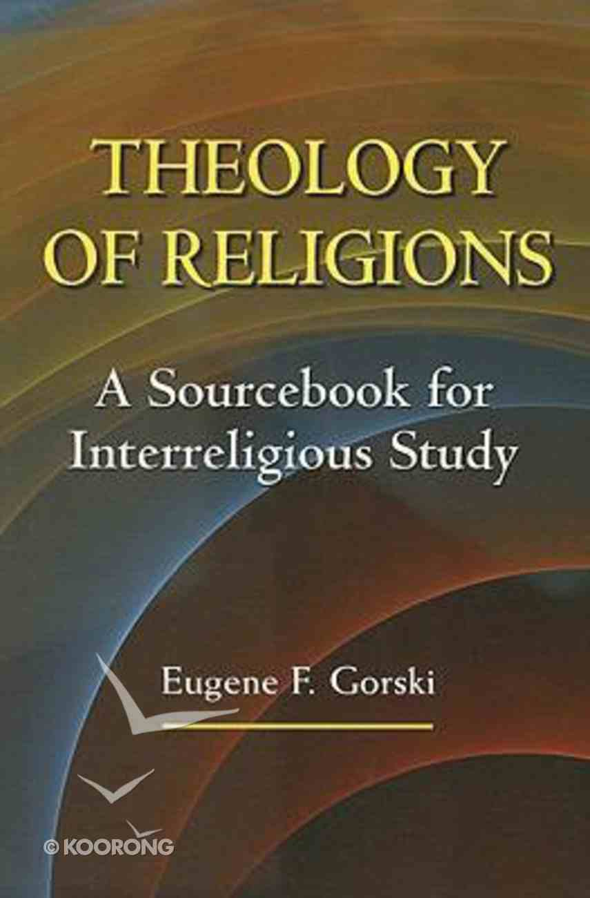 Theology of Religions Paperback