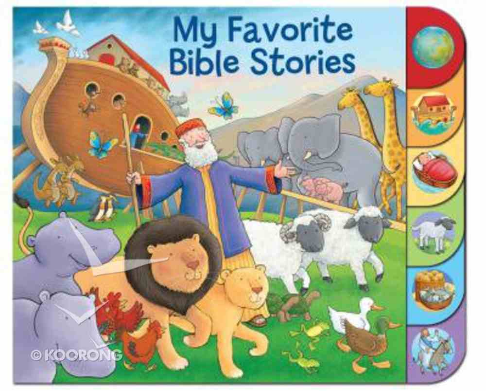My Favourite Bible Stories Board Book